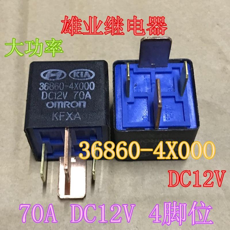 KIA relé 36860-4X00O DC12Vpower70A 36860-4X00O