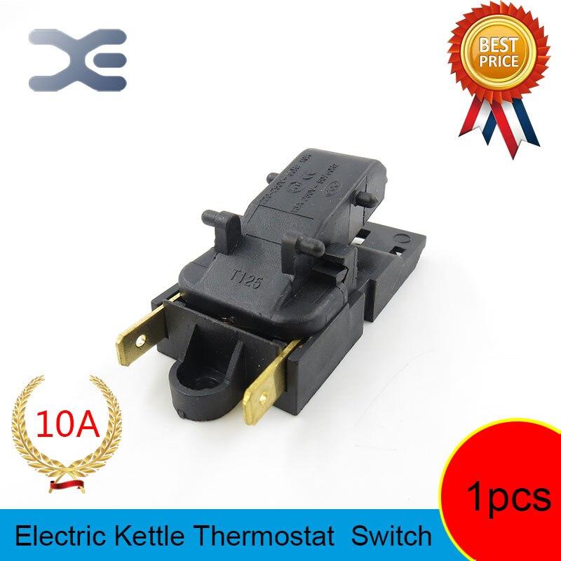 T125 XE-3 JB-01E 10A электрический выключатель для чайников запасные части чайники кухонные приборы запчасти термостат для T125 XE-3 JB-01E 10A