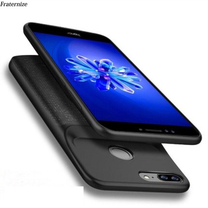 Funda de batería para Huawei Honor 8 Lite, carcasa trasera con cargador para Huawei Honor 9 Lite, Funda fina a prueba de golpes