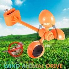 SOLEDI-répulsif doiseaux, vent à 360 degrés, entraînement de Pigeon, effarant doiseaux, répulsif doiseaux créatif, outil de jardinage en plein air