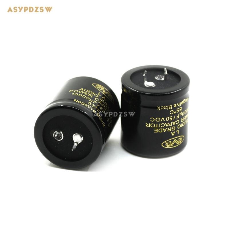 2 uds NOVER 10000 uF/50 V condensadores de filtro de 35mm * 35mm electrolítico de audio condensadores