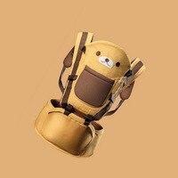 Cut Cartoon Pattern Baby Carrier Comfortable Detachable Breathable Cartoon Newborn Backpacks Carrier