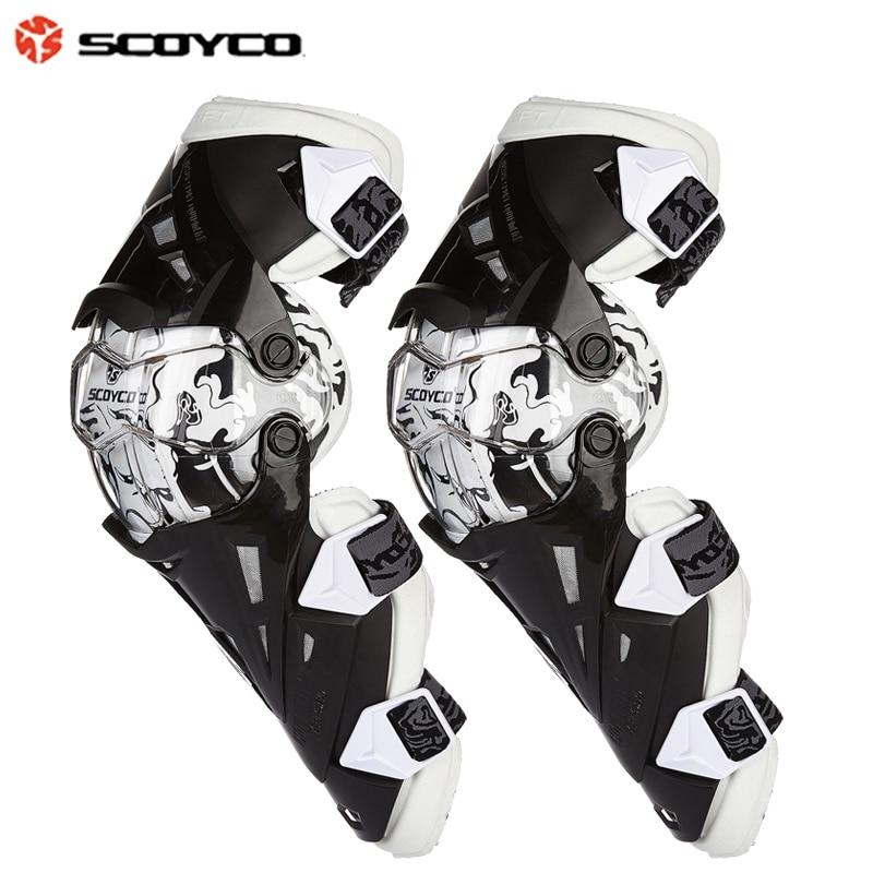 Наколенник Scoyco K12, защитная Экипировка наколенник для мотокросса, гоночный коленная передача