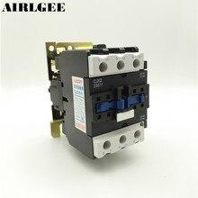 Ui 660V Ith 80A 3 Poles 1 NO 1 NC 380V Coil AC Contactor CJX2-5011