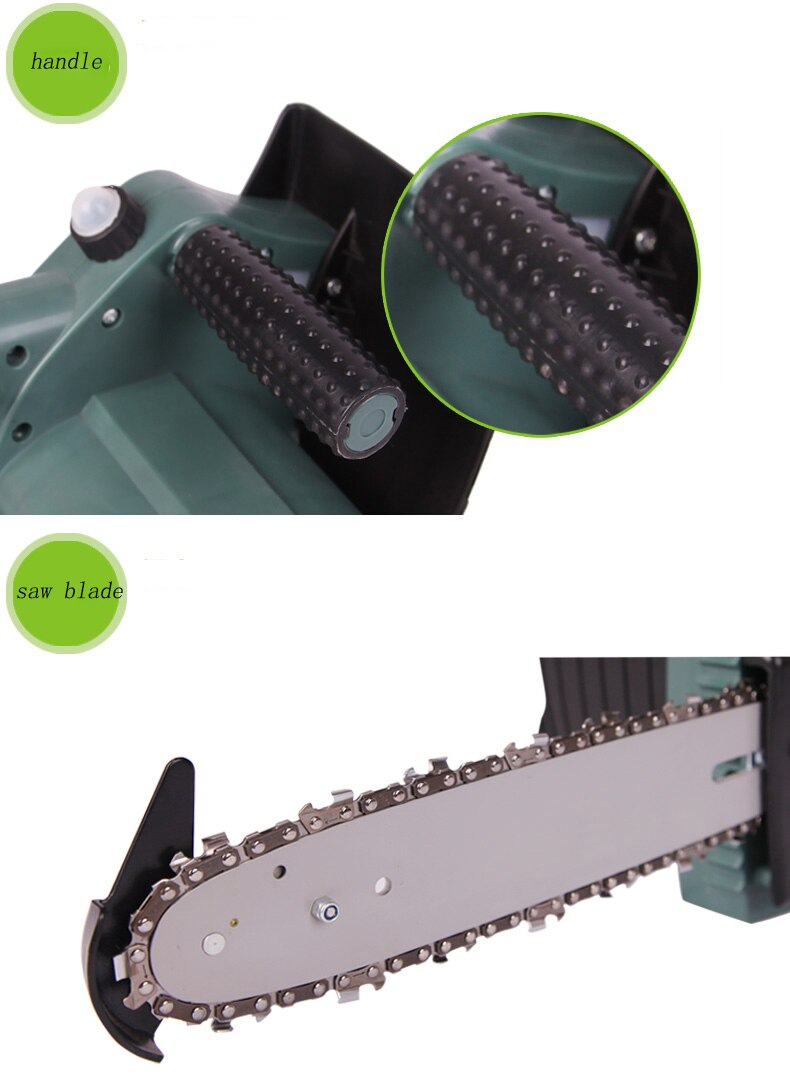 18V Charging Battery electric tree-cutting saws Household woodworking hand felling saw/timber cutting chain saw ET2506 enlarge