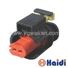 Gratis Verzending 2 Sets 2Pin Waterdichte Sensor Vvt Stekkers Auto Cam In De Uitlaat Magneetventiel Harnas Connectors 284556-1