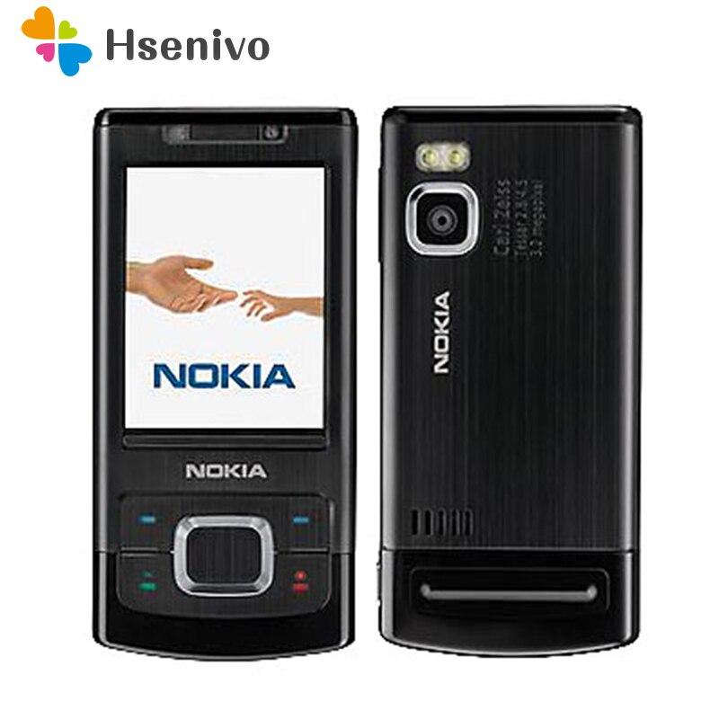 Desbloqueado 6500 S Original Nokia 6500 de un solo núcleo deslizante teléfono móvil 3G Bluetooth Mp3 jugador 3.15MP teléfono móvil renovado teléfono