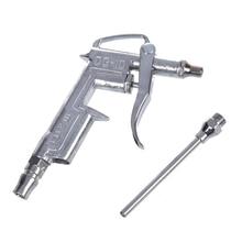 AYHF-Herramienta de tono plateado de limpieza de pistola de aire de eliminación de polvo