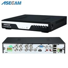 AHD-enregistreur vidéo DVR   Super 8CH, Full HD 1080P, H.264, caméra de vidéosurveillance Onvif, réseau 16 canaux, IP NVR, plusieurs langues avec alarme