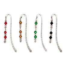 10 pièces De Style Tibétain Signets/Épingles À Cheveux avec des Perles De Verre, Couleur Mixte, 84mm