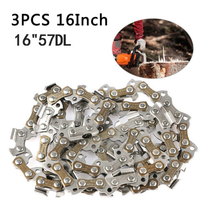 16inch 3/8LP .050 57DL Saw Chain Blade For WG300 WG303 WG303.1 WG304 Chainsaw Woodworking Tool Accessories