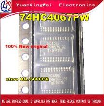 Envío Gratis 50 Uds nuevo y original 74HC4067PW 74HC4067 SN74HC4067PW TSSOP24 lugar stock
