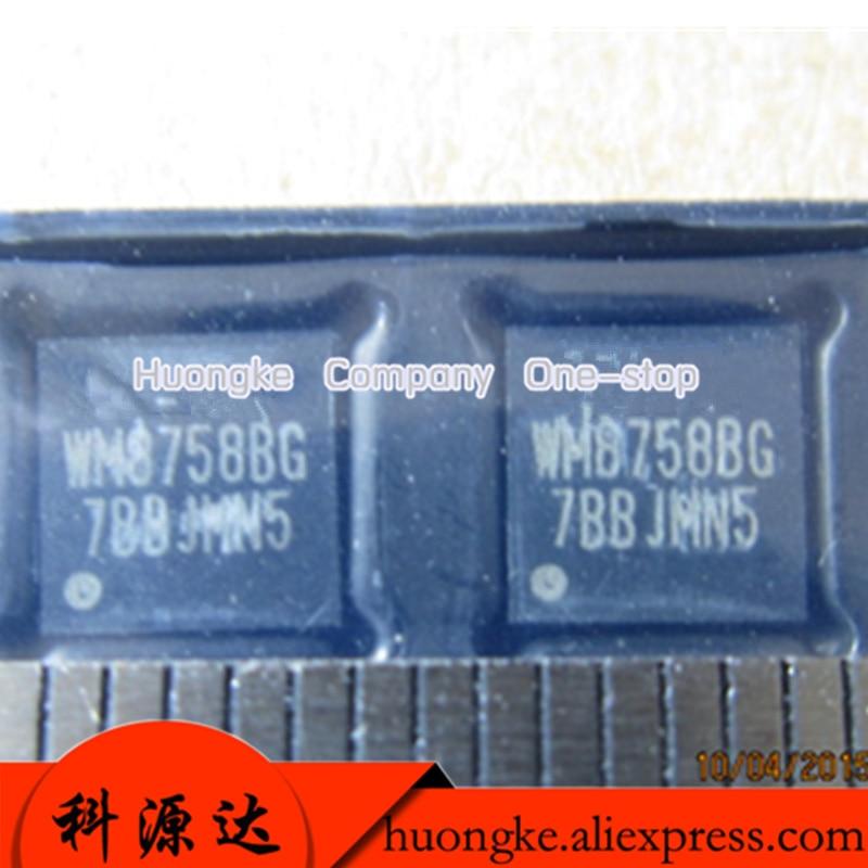5 unids/lote WM8758BG WM8758BGEFL/RV WM8758BGEFL QFN32 códec estéreo con controlador de auriculares y salida de línea
