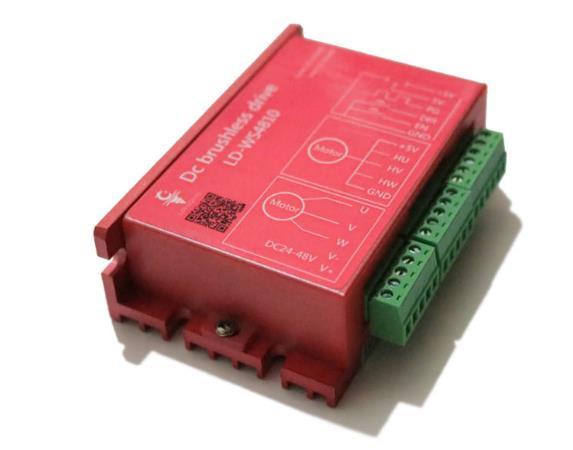 Controlador de motor sin escobillas control numérico grabado electromecánico husillo controlador CC sin escobillas