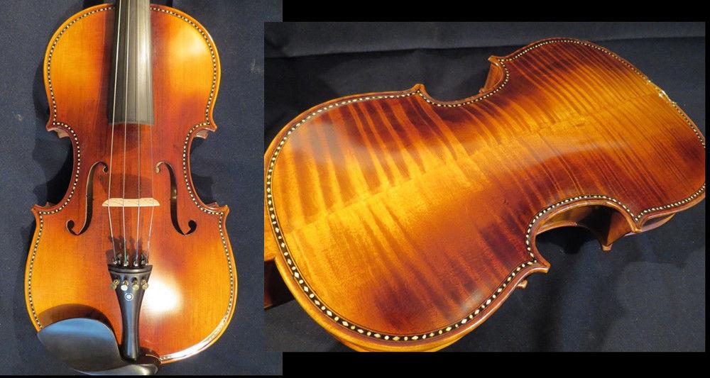 Guarneri style SONG brand profession Master inlay shell viola 17