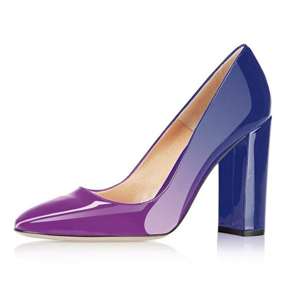 Lovirs-حذاء نسائي من الجلد اللامع مع مقدمة مدببة وكعب خنجر 10 سنتيمتر ، حذاء سهرة مثير ، 5-15