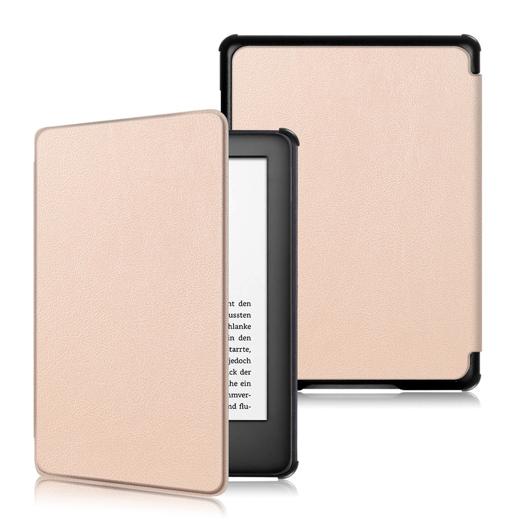 Funda plana de cuero para Kindle 10. ª generación, resistente al desgaste y antideslizante, de 6 pulgadas para el Sueño automático de Amazon