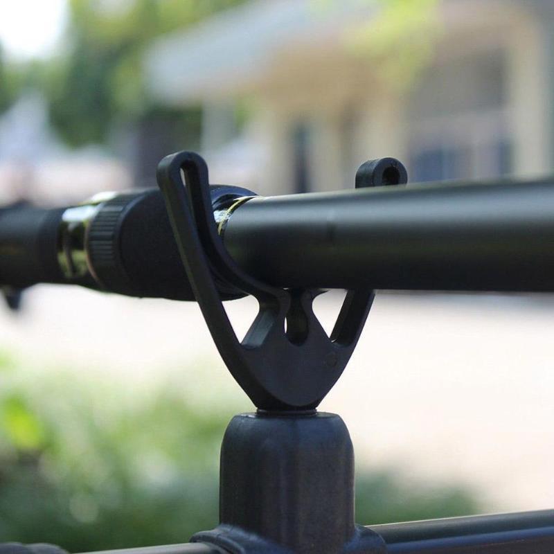 4pcs/set U-shaped Fishing Rod Pole Butt Grips Rest Head Gripper U Shape Holder Tackle Tool Fishing Accessories peche 68mm Length