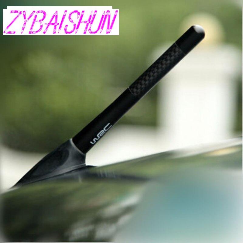 ZYBAISHUN короткая антенна из углеродного волокна радио антенна для Nissan Teana X-Trail Qashqai Livina Sylphy Tiida Sunny March Murano