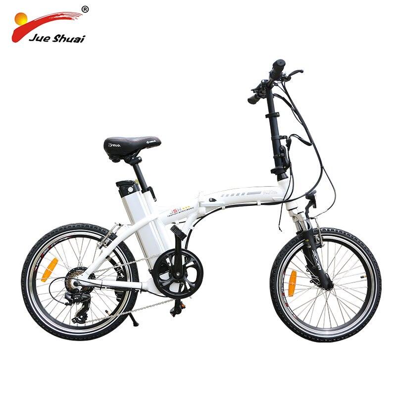 BAFANG-bicicleta eléctrica plegable de 20 pulgadas, con Motor de rueda de 36V...
