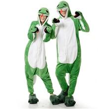 Mignon adulte Anime vert serpent Onesies Costume pour femmes hommes drôle chaud doux Animal mignon Onepieces pyjamas vêtements de maison fille vêtements