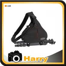 Caden K1 Shoulder Camera Bag Video Portable diagonal Triangle Carry Case for 5DMarkIII 5DMarkII 7D 650D 60D D600 Pentax Shipping