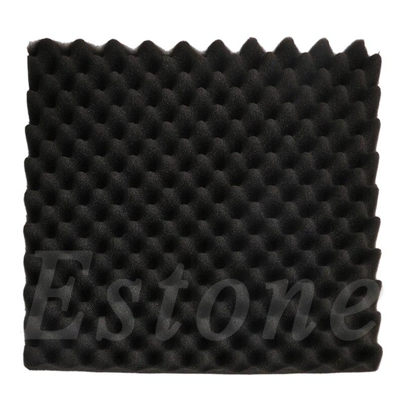 1 pc Peças Musicais Acessórios À Prova de Som Acústico de Absorção de Som Grosso Pirâmide Estúdio Placa de Espuma 50x50x3 cm