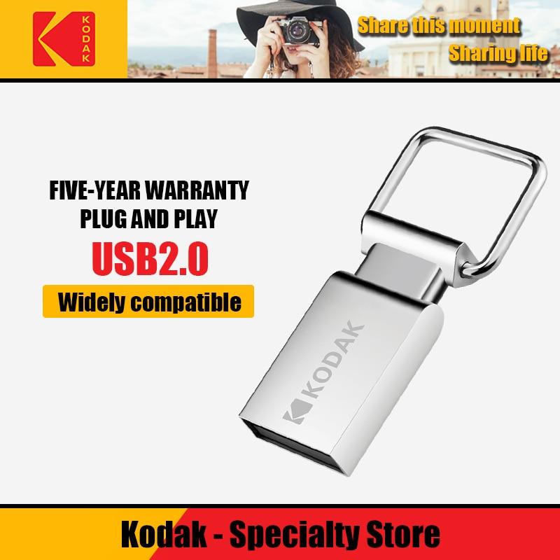 Металлический Мини-накопитель Kodak K112, 16 ГБ, USB флеш-накопитель 32 ГБ, флеш-память 64 ГБ, U-диск usb 2,0, USB-накопитель