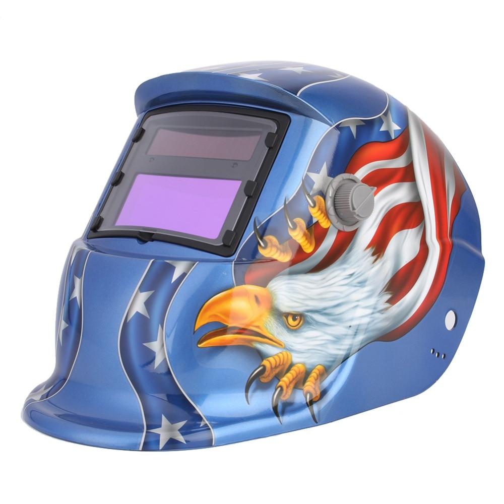 Новое поступление, солнечный автоматический сварочный шлем/маска/сварочные линзы, Электрический затемняющий шлем Сварочная маска TIG MIG MMA С...