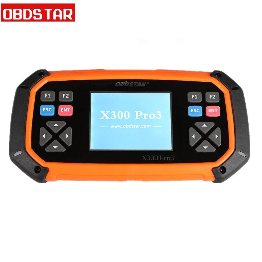 Программатор OBDSTAR X300 PRO3 Key Master с иммобилайзером/одометром, регулировкой/EEPROM/PIC/OBDII OBDSTAR X300