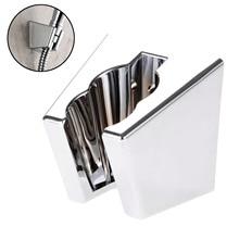 ABS étanche réglable salle de bain Bidet pomme de douche pulvérisateur Shattaf support de montage mural support de pomme de douche Nickel brossé