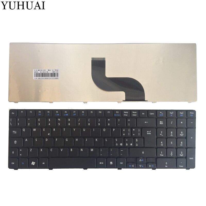 Italiano teclado del ordenador portátil para Acer Aspire 5750G 5536G 5536g 5738G...