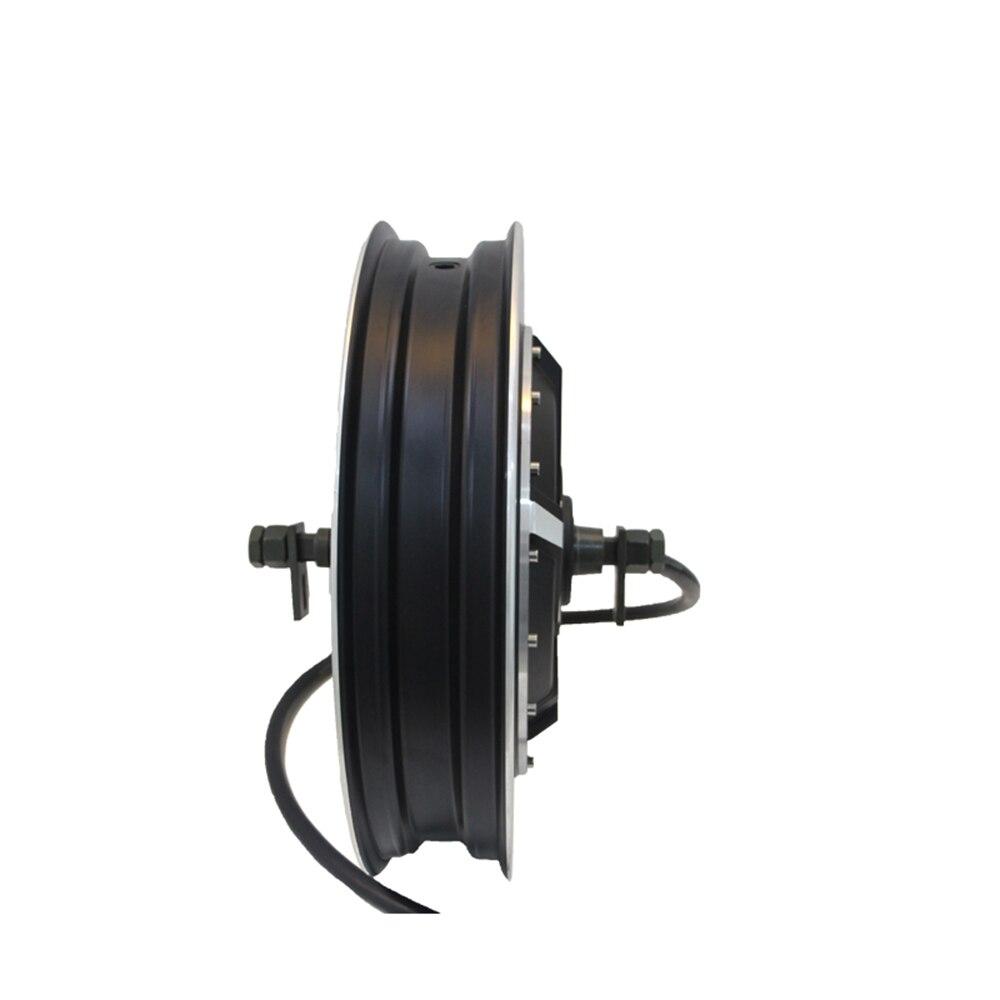 QS nuevo 12*3,5 pulgadas 1500 W V1.12 BLDC e-scooter en el Motor del cubo de la rueda