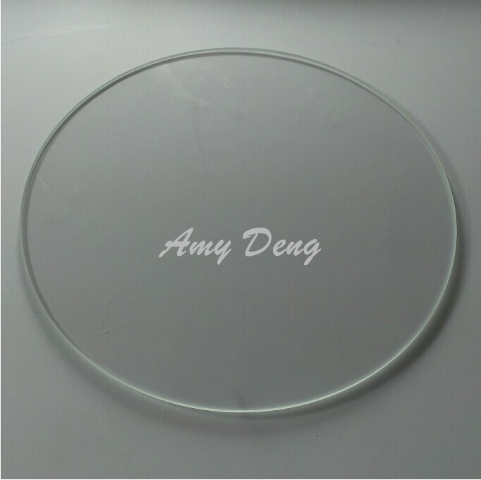 3D  heating bed borosilicate glass Delta Rostock  diameter 250MM