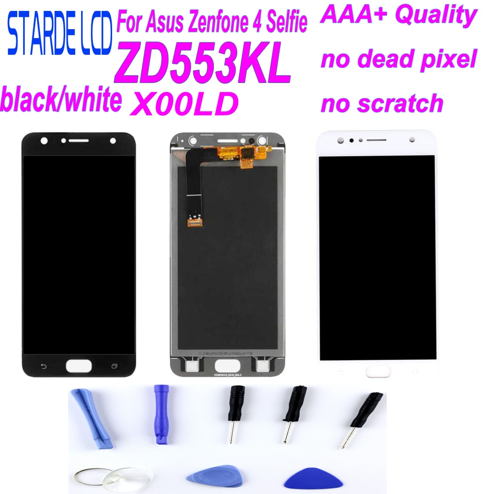 Para Asus Zenfone 4 Selfie ZD553KL ZB553KL X00LD LCD pantalla de visualización Digitalizador de Panel táctil Pantalla de montaje Original