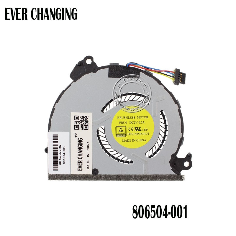 Nuevo ventilador original para CPU HP Spectre x360 830675-001 FH2L dfs1505010t FCN43Y0DTP 402BCD293
