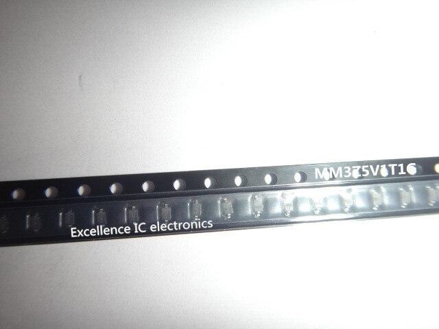 500 sztuk MM3Z5V1T1G MM3Z5V1 DIODE ZENER 5.1 V 300 MW SOD323 oryginalny autentyczne i nowe IC