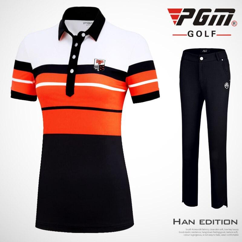 Новинка одежда для гольфа женский спортивный костюм Весенняя женская с коротким