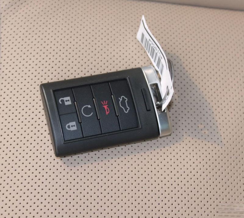 Mando a distancia sin llave para coche, llave de repuesto para mando a distancia de 315mhz con chip de 5 botones para CADILLAC SRX