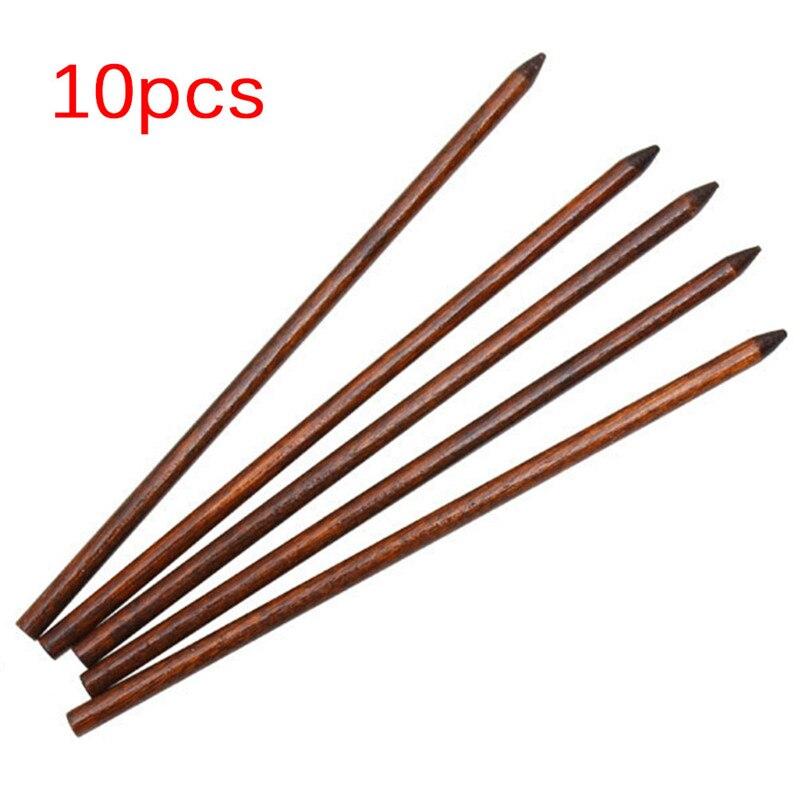 10 pièces coiffure femme bâtons de cheveux beauté en bois épingles à cheveux accessoire mode chaude Style chinois femmes épingles à cheveux 18cm