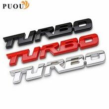 Autocollant 3D de voiture en métal   Accessoires de badge Turbo pour Infiniti FX35 Q50 G35 QX70 FX G37 Q30 QX56 I30 M35 FX37 QX4 QX60 FX50 M37