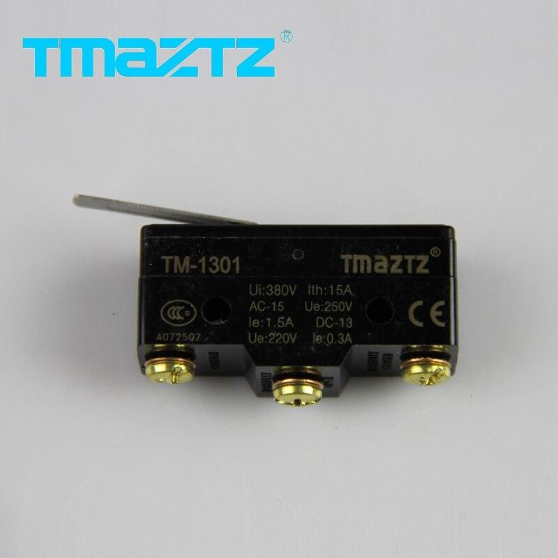 1 pcs tmaztz tm-1301 hight qualidade limitada interruptor interruptor micro contatos de prata de alta preciso