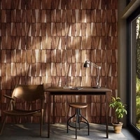 nordic vintage rustic 3d wood wallpapers home decor papel murals wall paper 3d roll for bedroom tea house walls vinilos pared