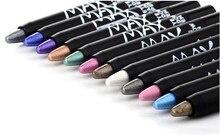 1 ud. Lápiz profesional para maquillaje de señora M. n sombra de ojos 12 colores lápiz impermeable maquillaje de ojos crayón revestimiento cosméticos pluma
