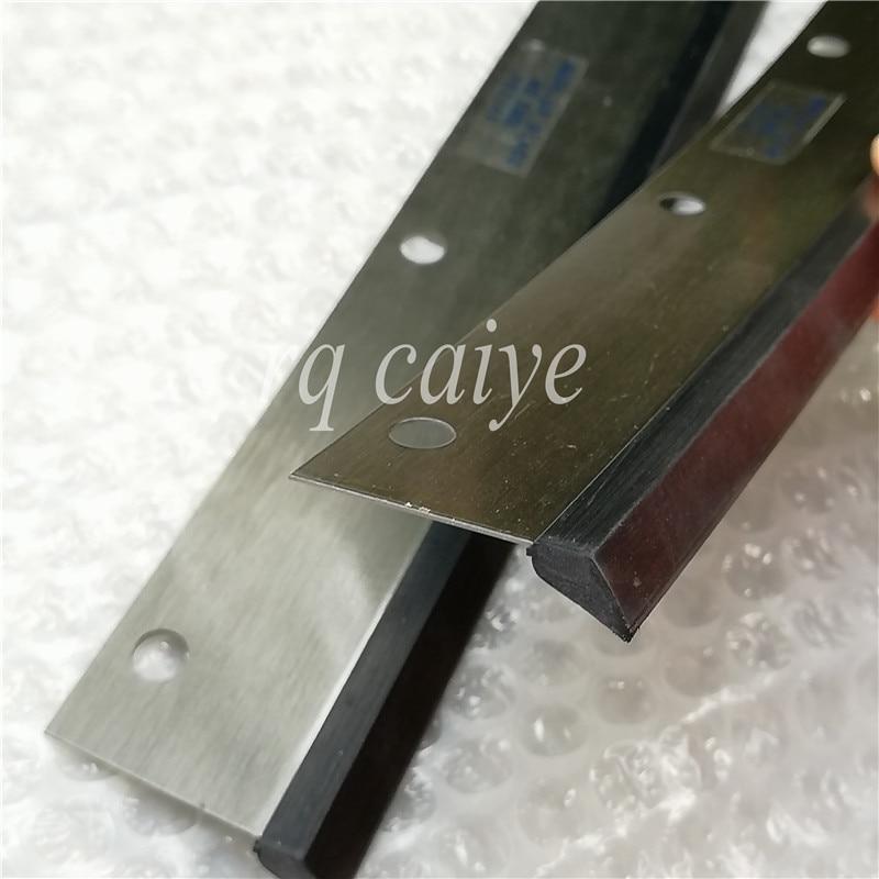 5 piezas G2.010.502 offset SM52 lavar hojas 605*46*0,5mm 7 agujeros SM 52 piezas de impresión