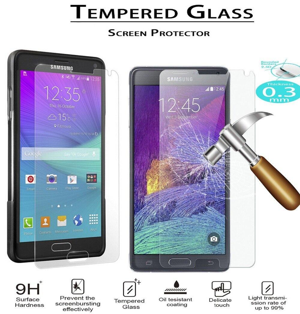 SM-N910F N910H N910C N910G película de vidrio templado 9H borde redondo protector...