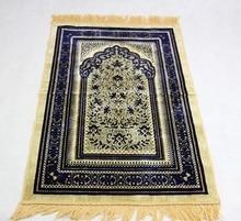 70*110cm Kaschmir-Wie Islamische Muslimischen Gebet Matte Salat Musallah Gebet Teppich Tapis Teppich Tapete Banheiro Islamischen beten Matte PM20