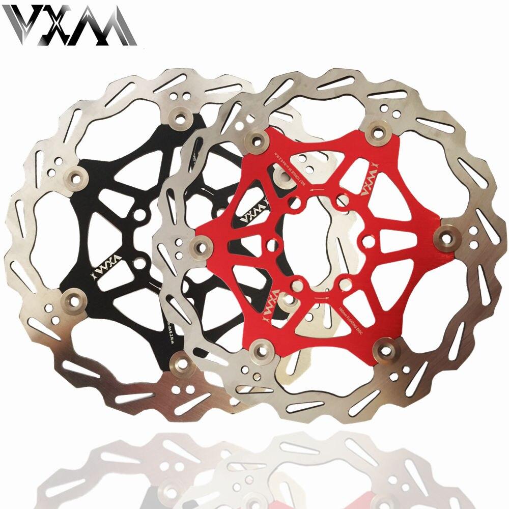 "VXM Bicycle Disc Brake DH Brake Float Floating Disc Rotors 160mm 6"" for MTB Bike Hydraulic Disc Brake Bicycle Pads Bike parts"