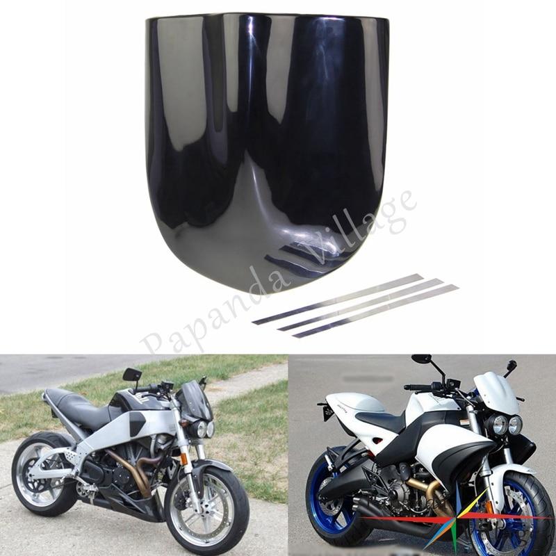 Papanda motocicleta universal preto brisa estilo fly windscreen para xb9s xb9sx xb12s streetfighter desvia vento