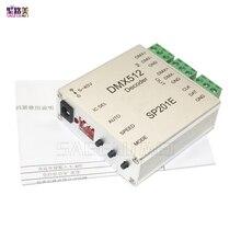 DC5V-DC12V SP201E DMX512 décodeur instructions de fonctionnement led de contrôle prendre en charge presque tous les types de contrôleur rvb LED-DRIVER-IC